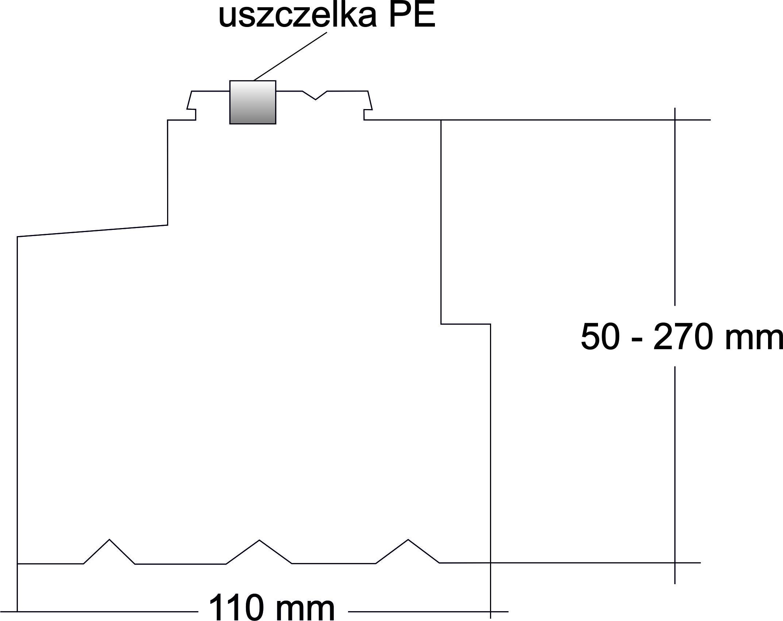 profil balkonowy XPS